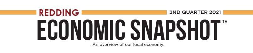 Redding Economic Snapshot Email Header Q2 2021