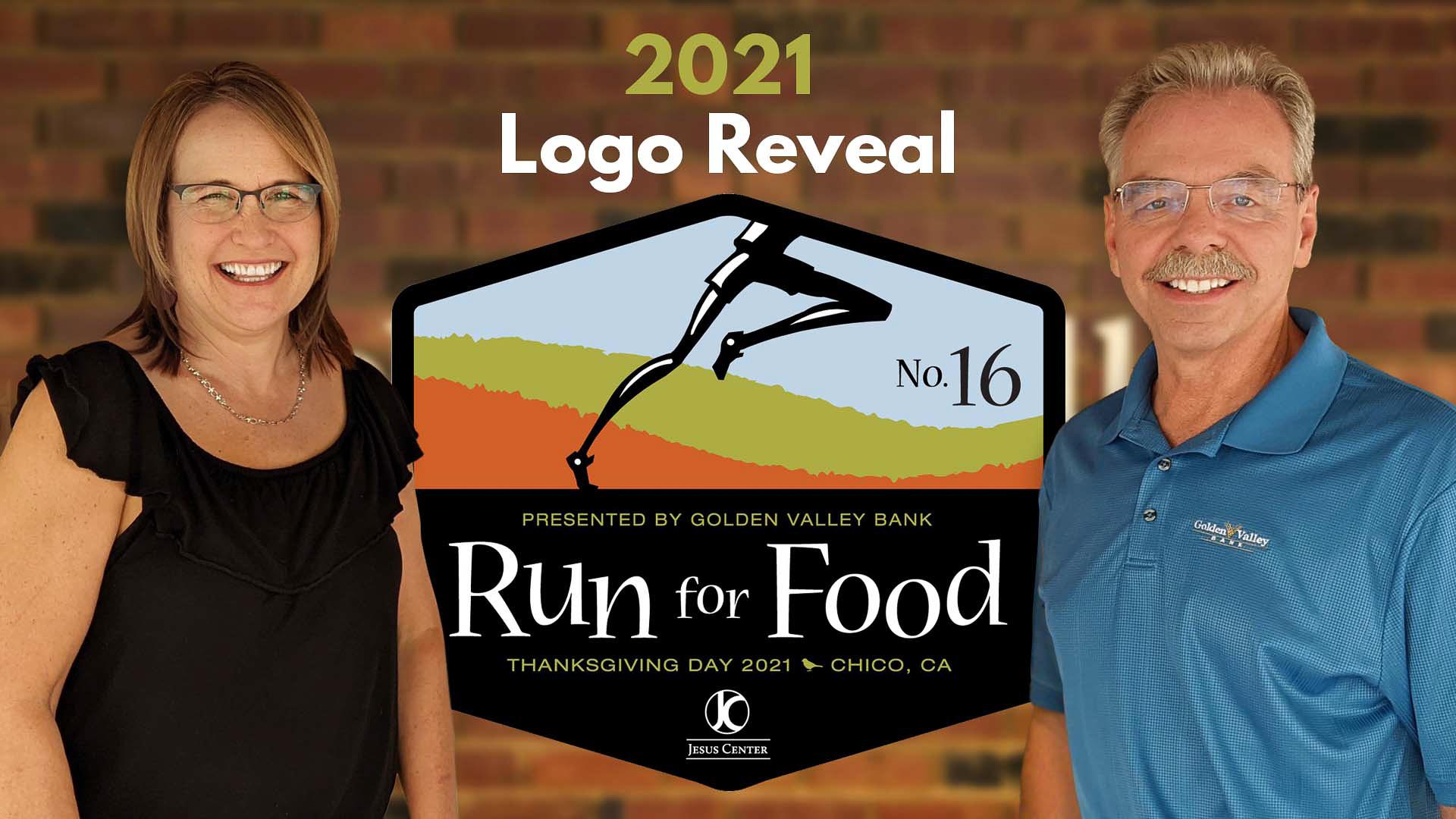 Laura Cootsona and Mark Francis 2021 Run for Food Logo