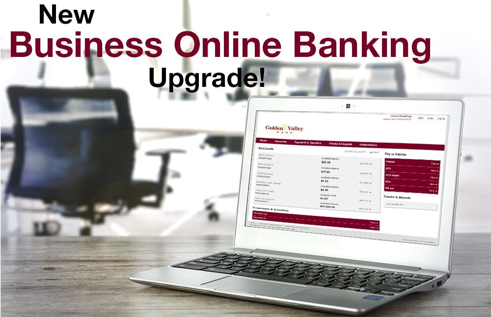 Business Online Banking Upgrade